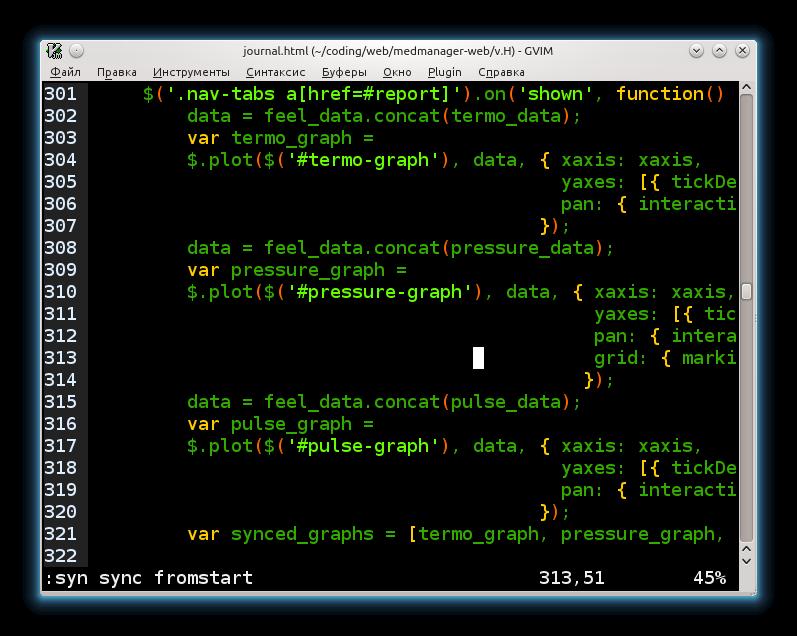 Reset Vim syntax highlighting (Example)