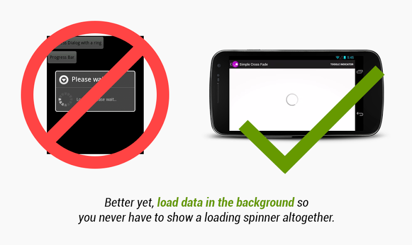 Proper Background Content Loading in Android (Example)