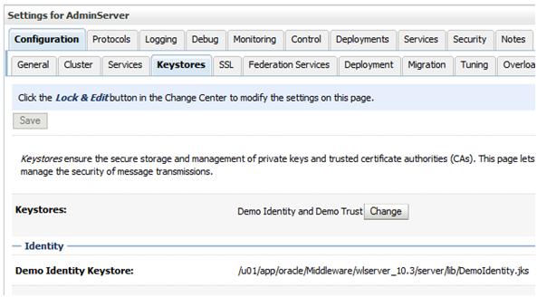Accessing a SSL WebService from Weblogic server (Example)