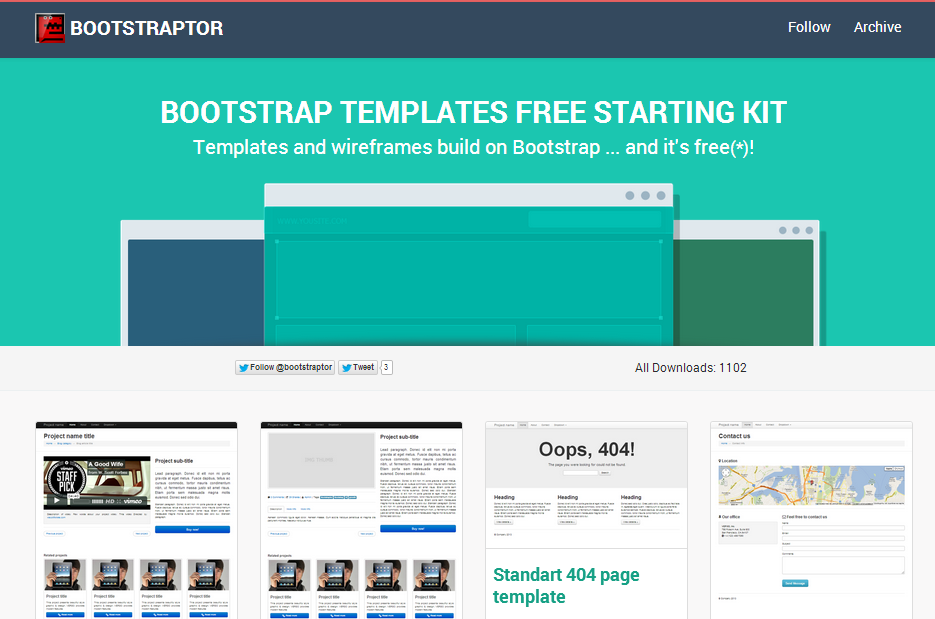 Prototyping for Bootstrap (Example)