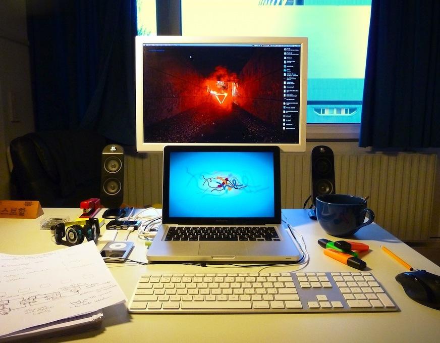 My hackerdesk
