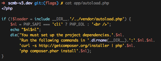 cat` syntax highlighting (Example)