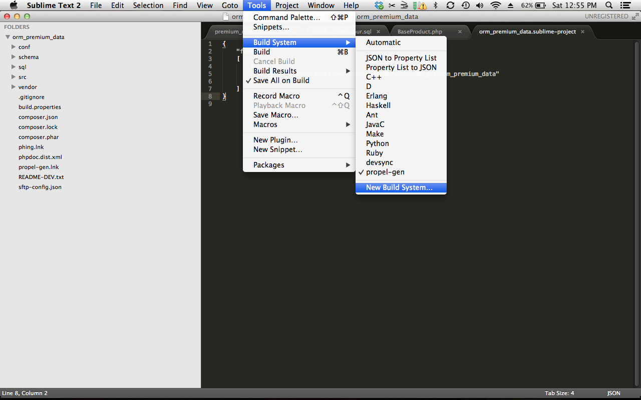 how to set up sublime text