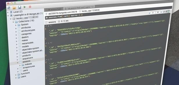 Session storage in Node.js / Express