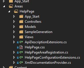 HelpPage code