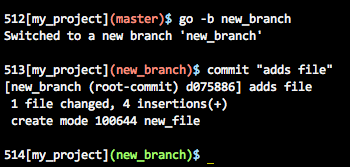 Command Prompt With Git Status