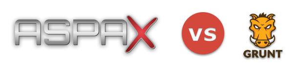 Managing assets in ASPAX vs Grunt