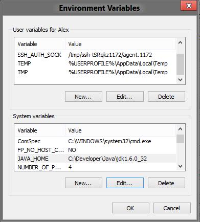 java 7  windows 2012
