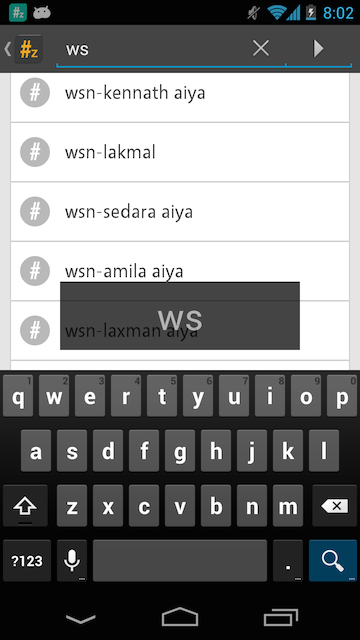 Add search function to list view in android (Example)