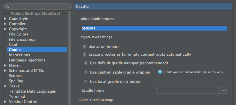 Migrate existing android project to gradle (Example)