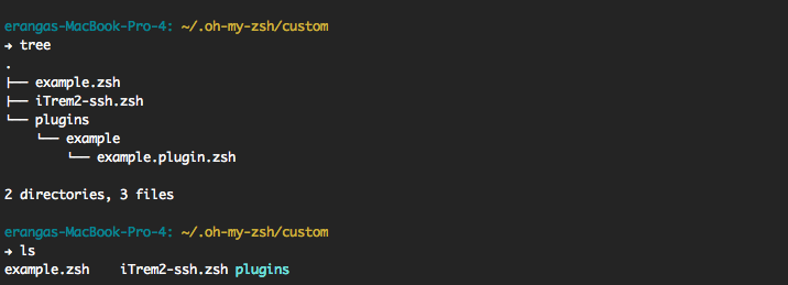 Change terminal color when SSH from OS-X (Example)