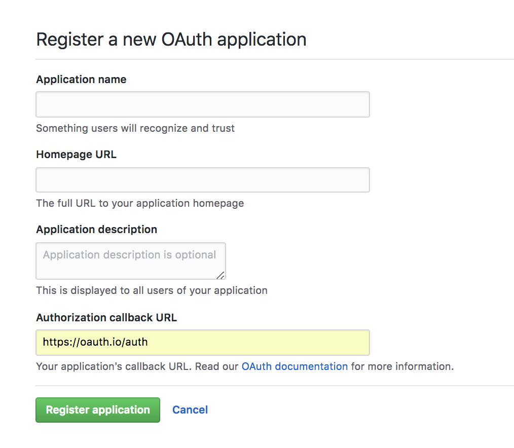 Social Login Button for OAuth using ReactJS (Example)