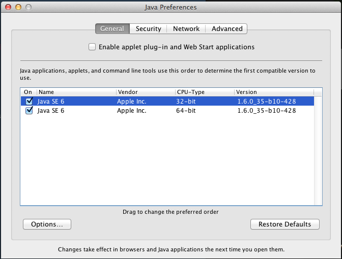 Updating jvm on mac