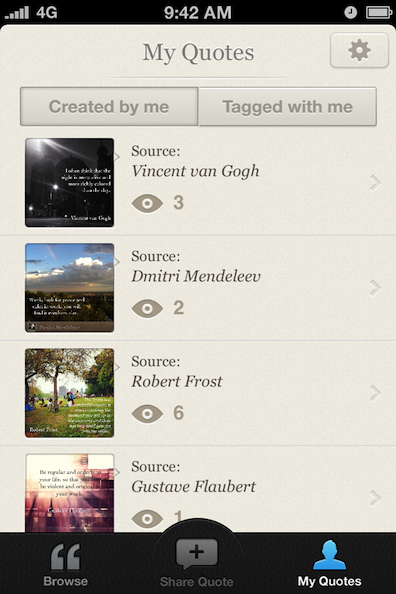 SquareQuote — cool open source iOS app! (Example)