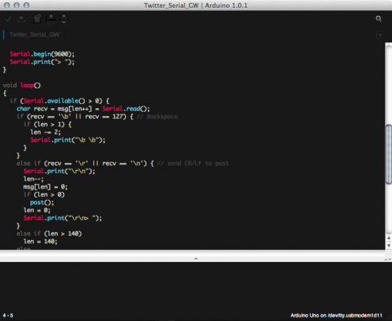 Custom Syntax Highlight hack for arduino IDE (Example)